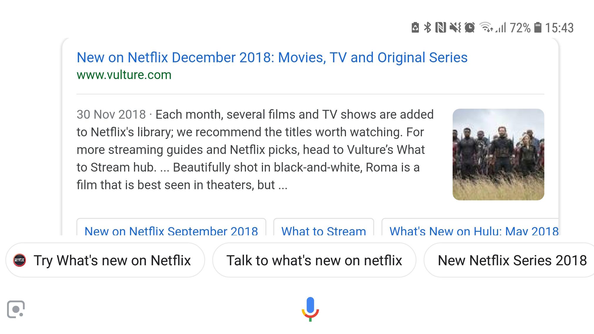 Google assistant netflix