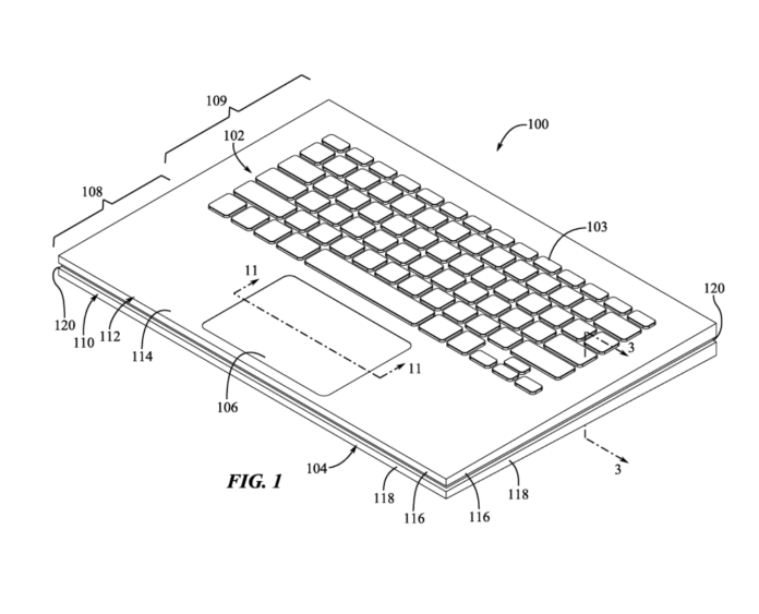 Apple's new patent suggests new tech on the horizon