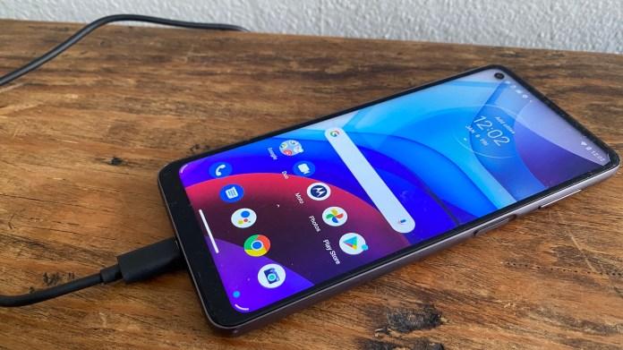 Best big phones: Moto G Power (2021)