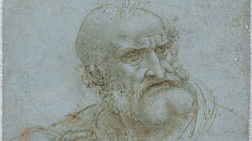 Drawing of Leonardo Da Vinci