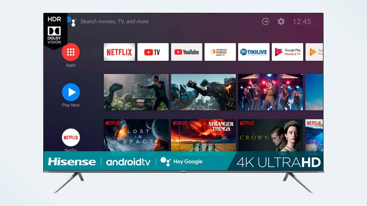 Best 85-inch TV: Hisense H65G Series Android TV (85H6570G)