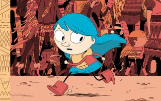 Hilda character design
