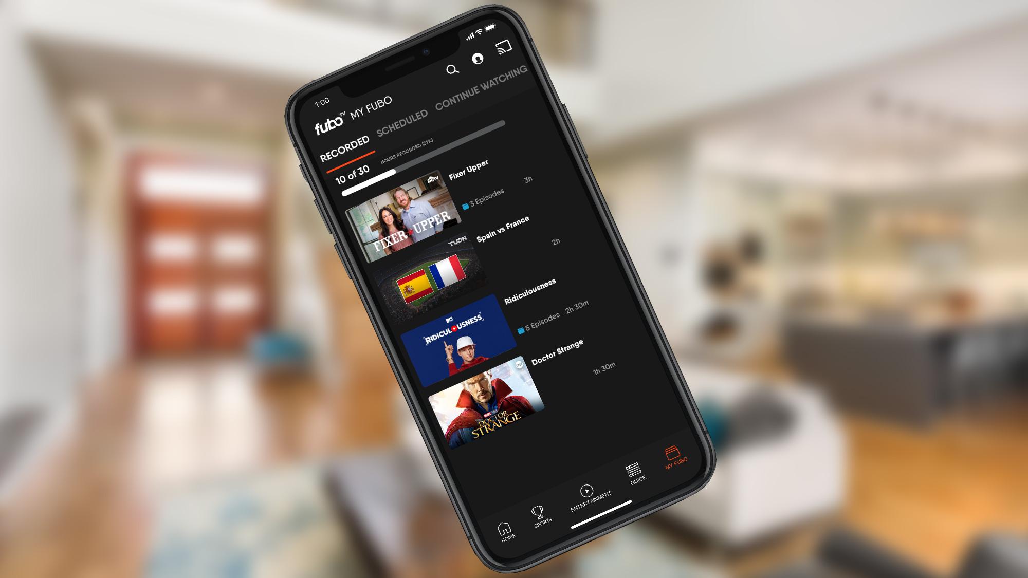 best streaming service: FuboTV