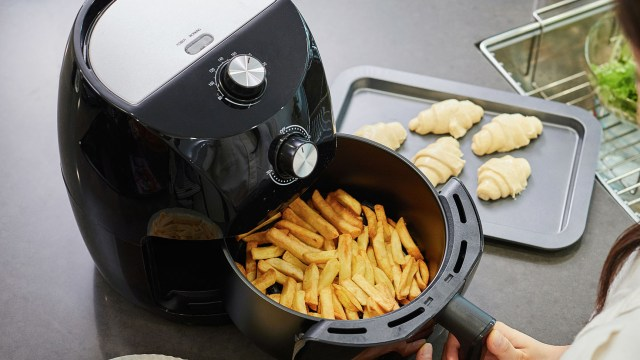 How to clean an air fryer to remove grease and caked-on food