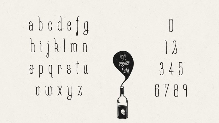 Free fonts Moderne Sans