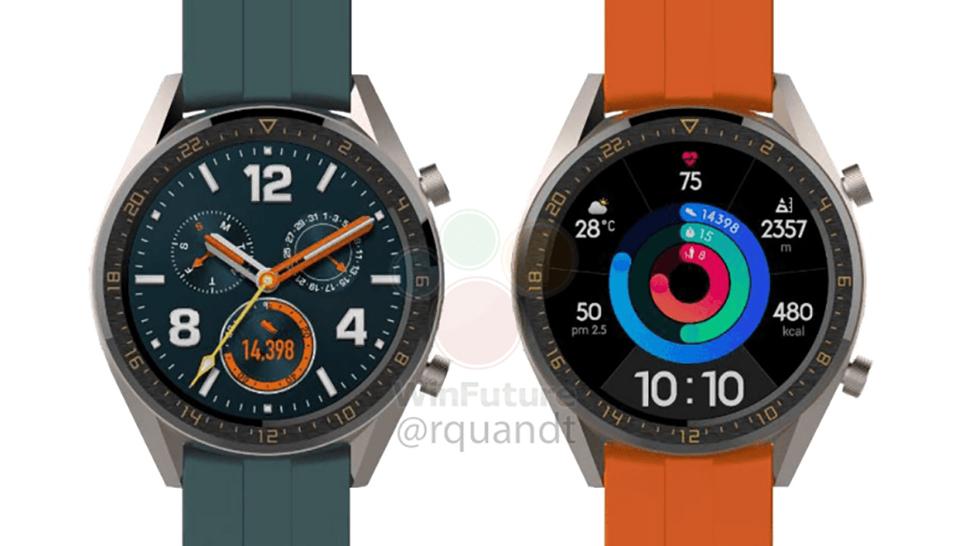 Huawei Watch GT Active leak