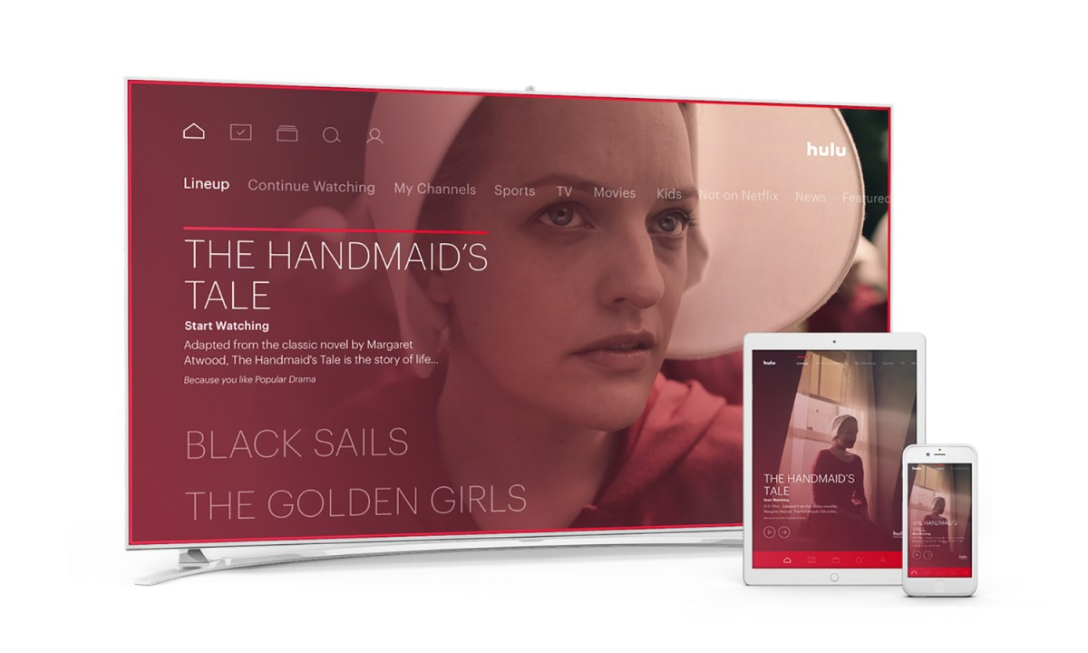 Hulu with Live TV review: The Handmaid's Tale — Credit: Hulu