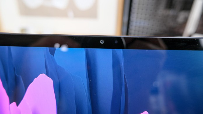 Samsung Galaxy Tab S7 and S7 Plus review webcam