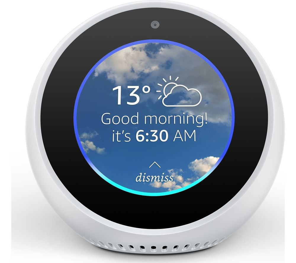 Discover Amazon Echo Spot - our device offer of the day - now with a mega £ 40 discount