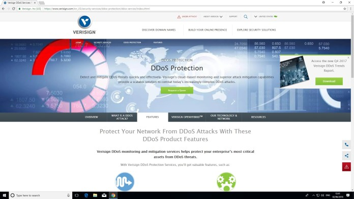 Verisign DDoS Protection