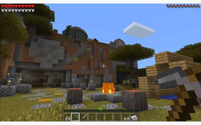 best VR games: Minecraft: Gear VR Edition