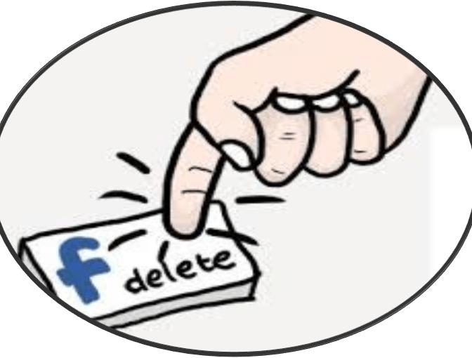 حذف حساب الفيس بوك موسوعة