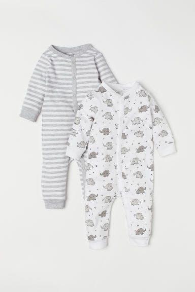 3-pack cotton pyjamas