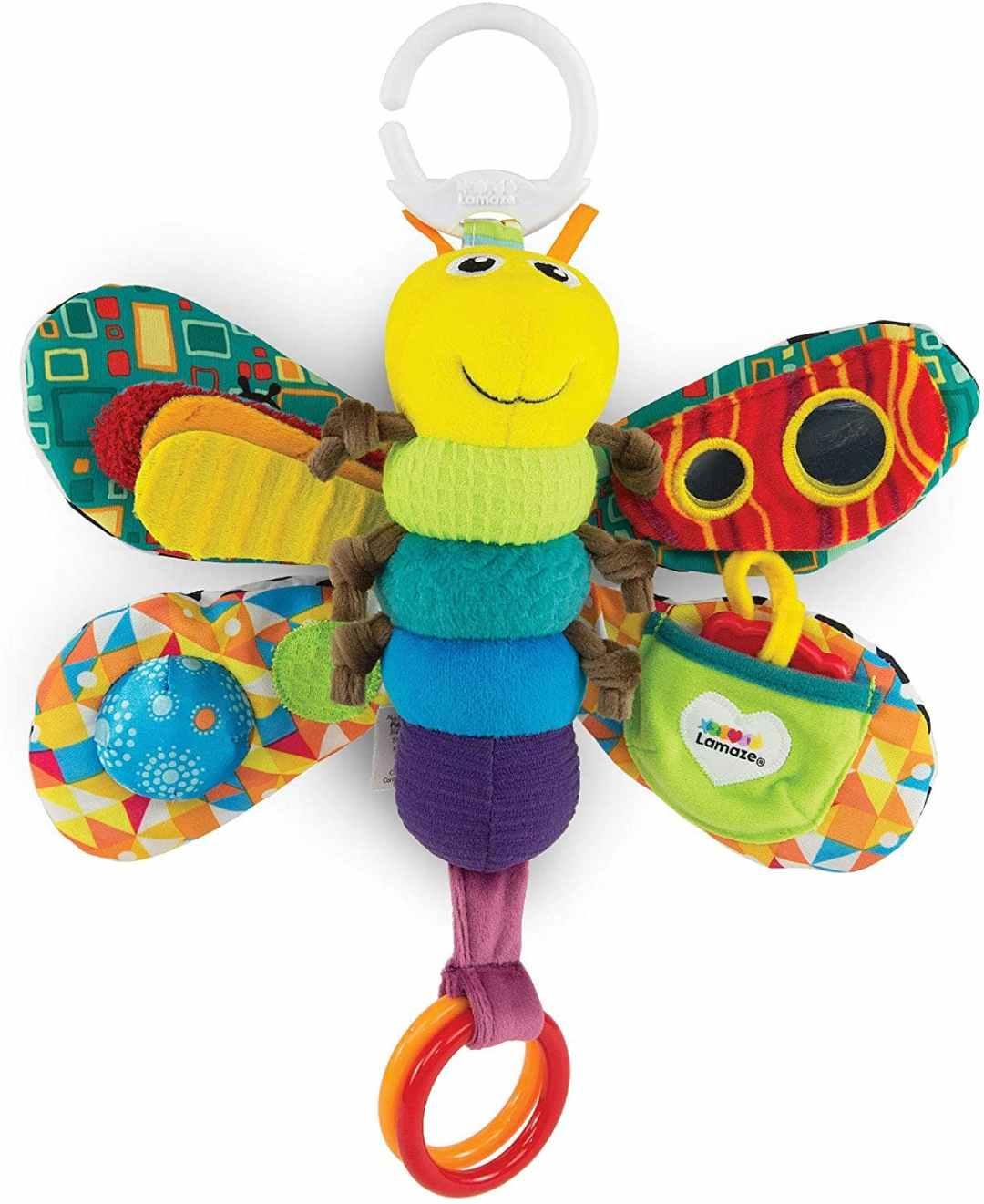 Lamaze Freddie the Firefly Rattle Baby Toy
