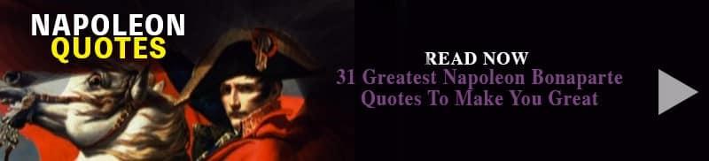 napoleon quotes