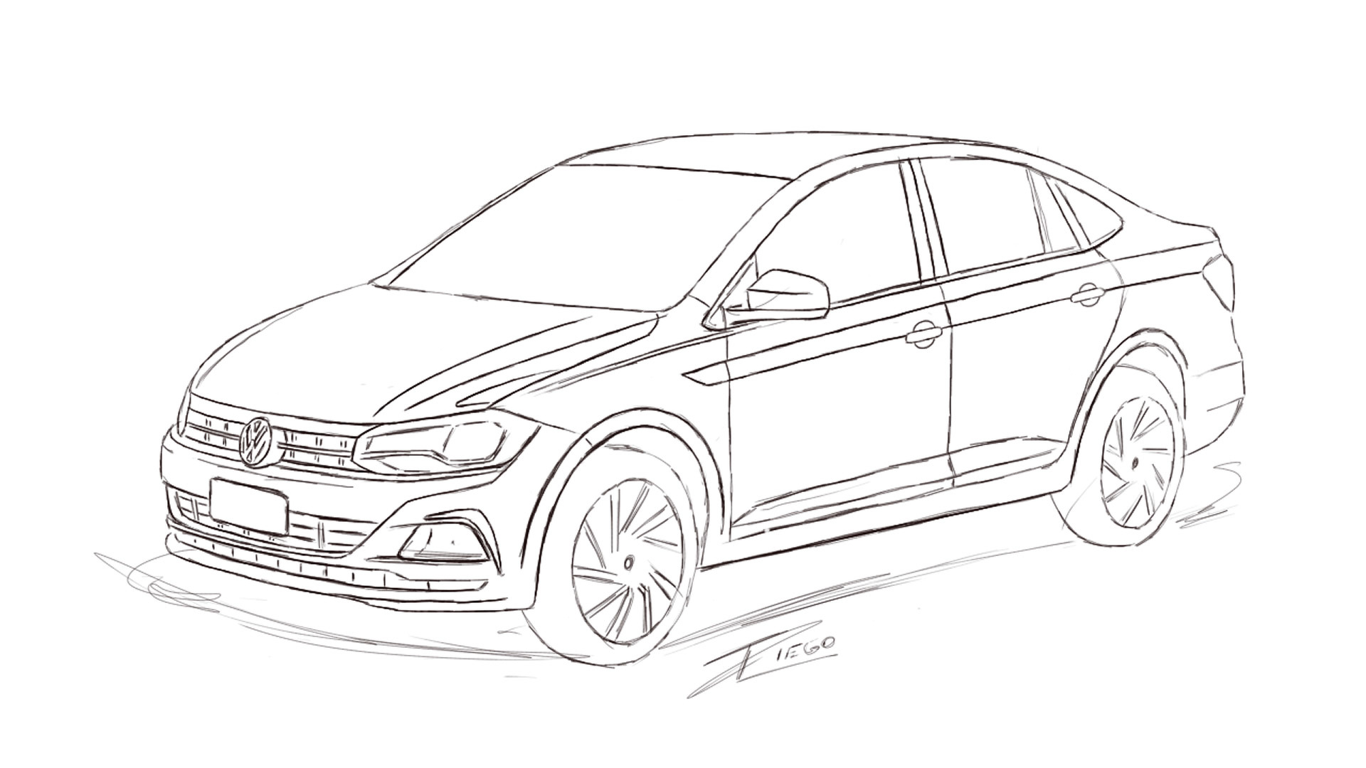 Volkswagen S Upcoming Polo Sedan Could Look Like This