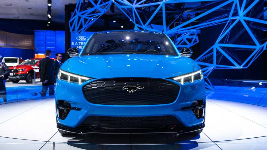 Ford Mustang Mach E Gt Live Image Motor1 Com Photos