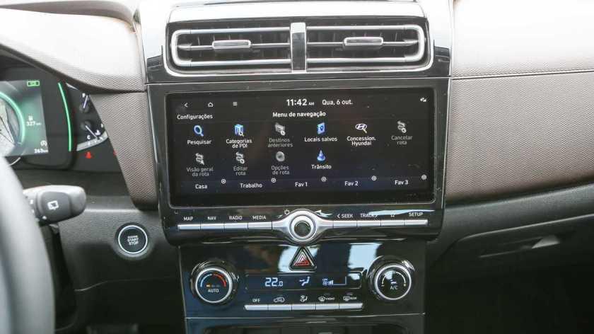 Hyundai Creta Platinum 1.0T 2022 Media Center