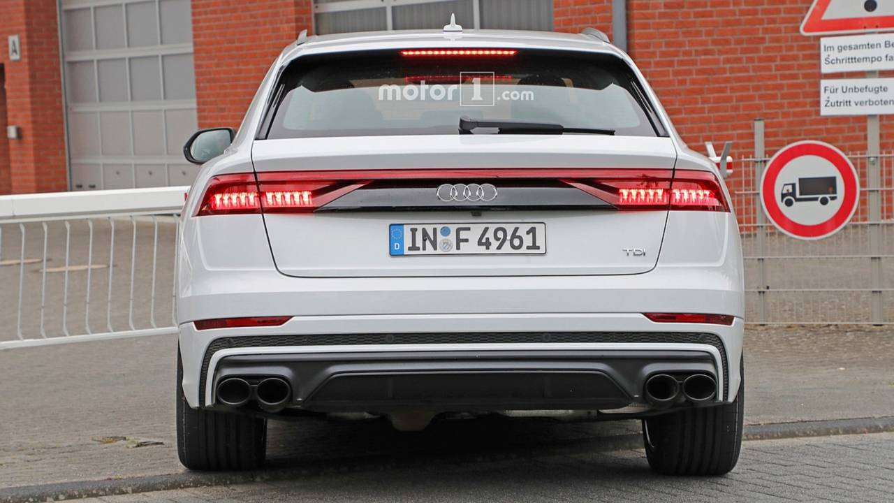 audi sq8 spied completely uncovered