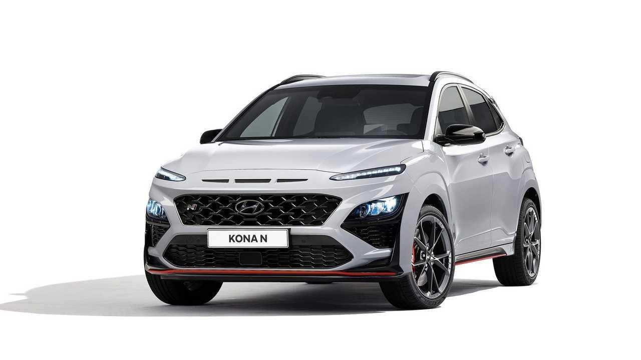2022 hyundai kona n revealed with 276 hp dual clutch transmission