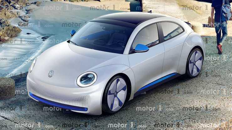 Volkswagen ID. Beetle Renders