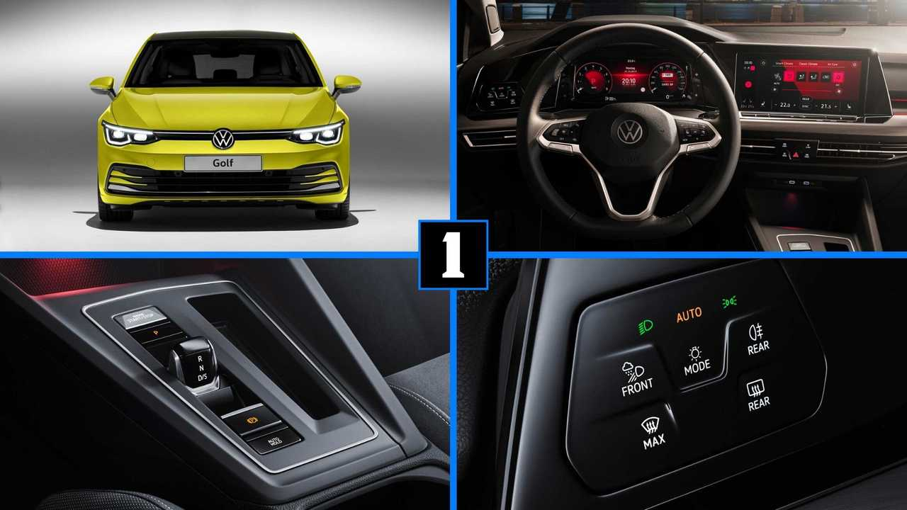 2020 Vw Golf 8 Here Are The Top 12 New Features