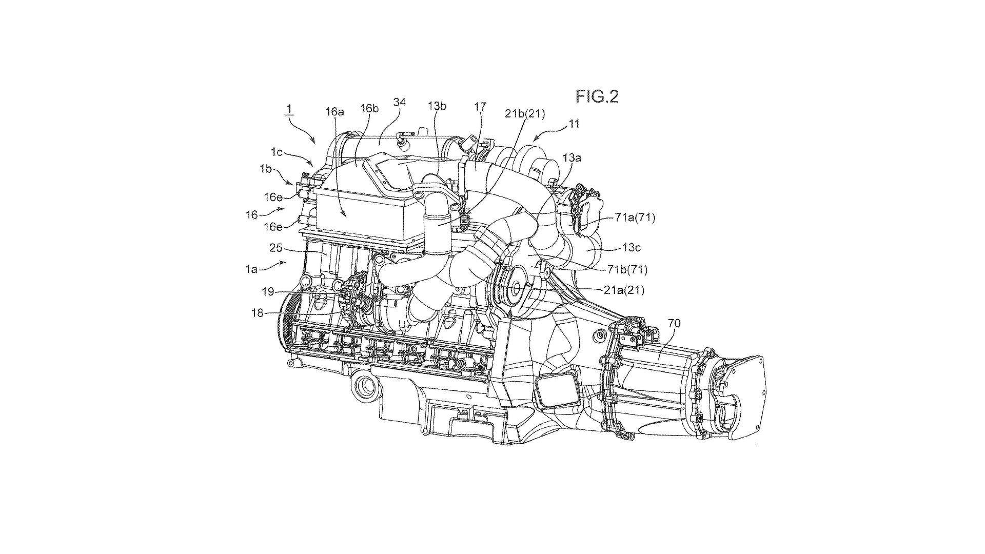 Mazda Patents Twin Turbo Electric Supercharger Engine