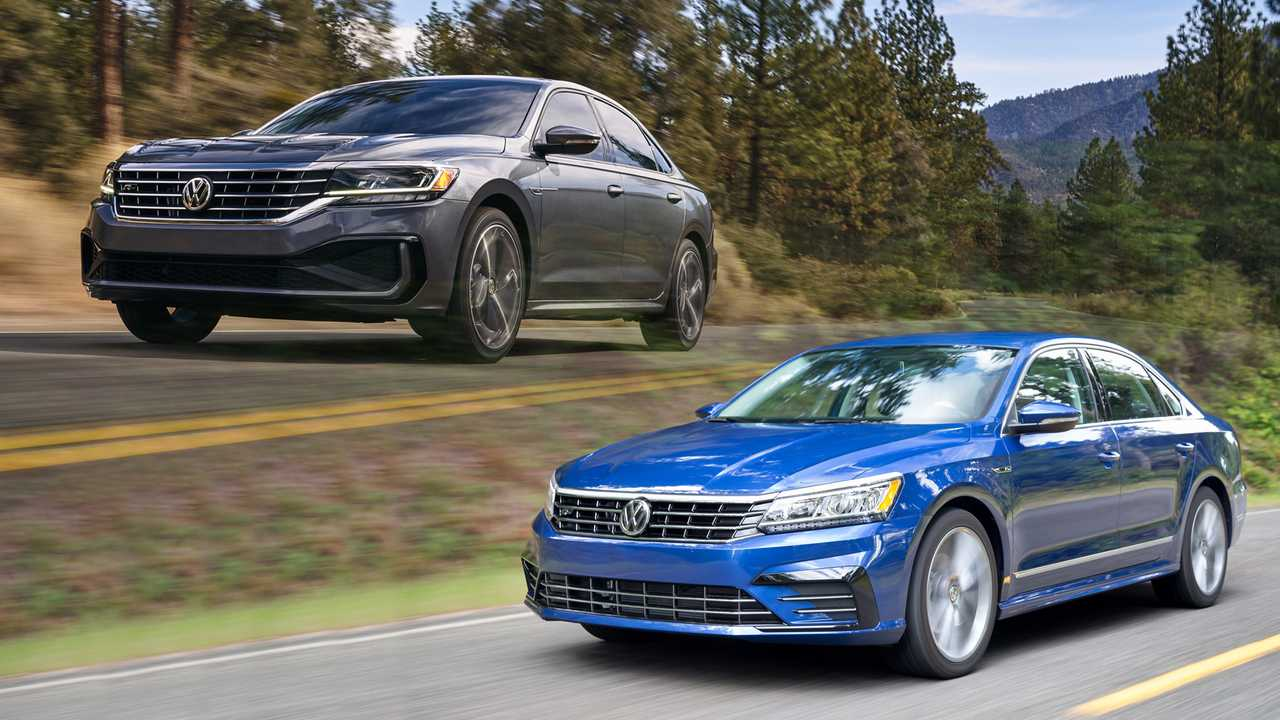 2020 Volkswagen Passat See The Changes Side By Side