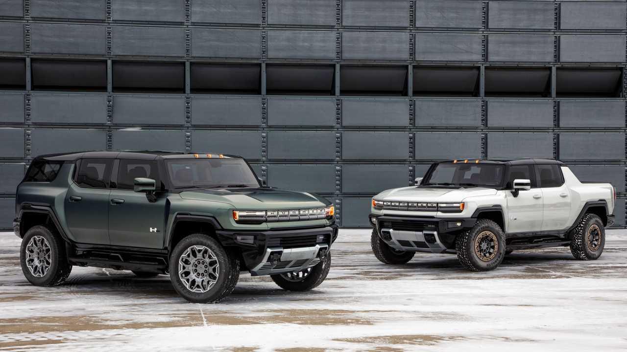 2024 GMC Hummer EV SUV y camión