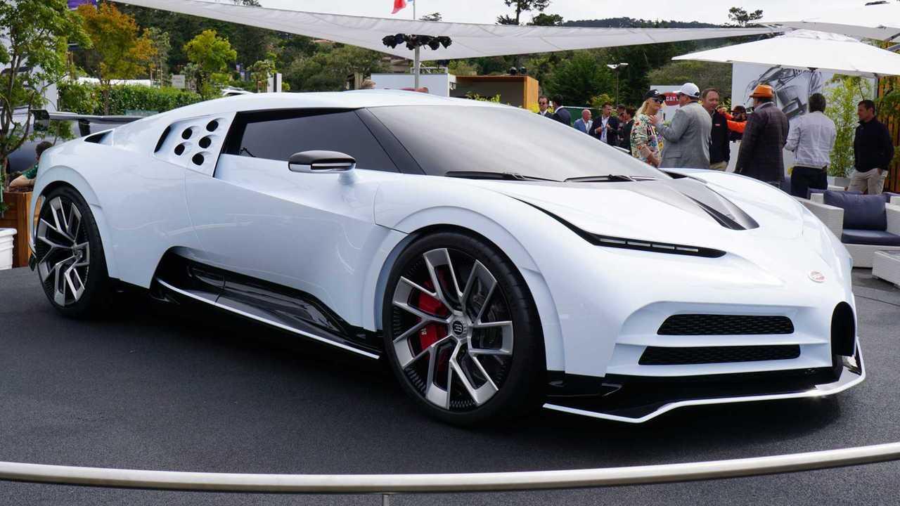 Bugatti Centodieci Looks Sensational In The Metal
