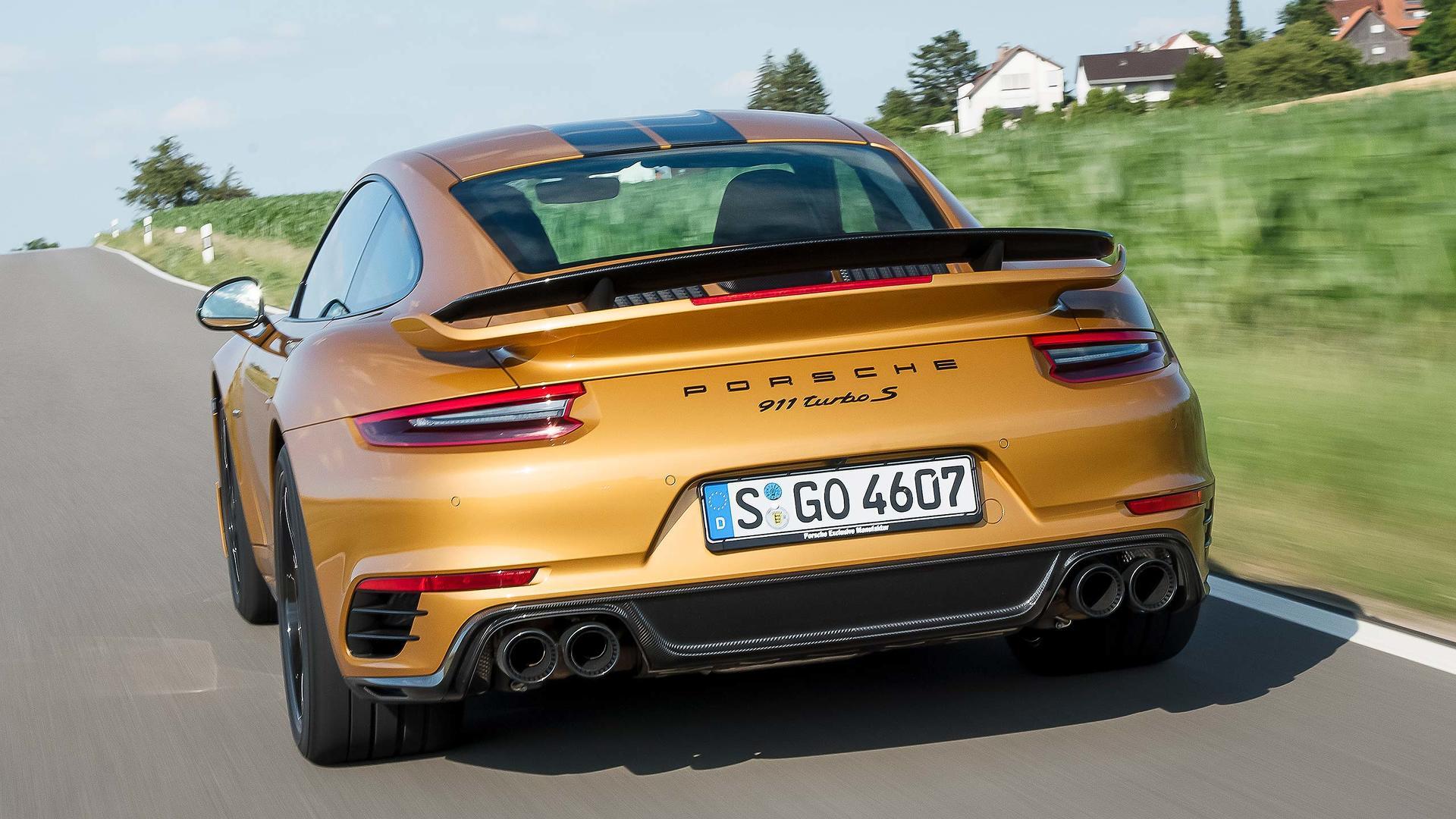 2017 porsche 911 turbo s exclusive