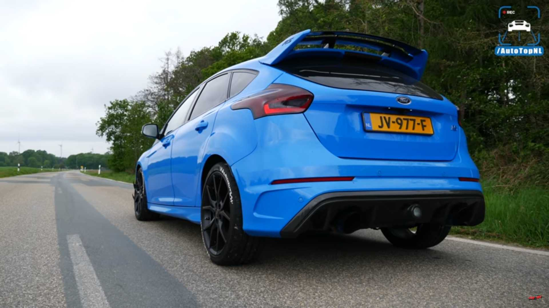 440 hp ford focus rs sounds peculiar