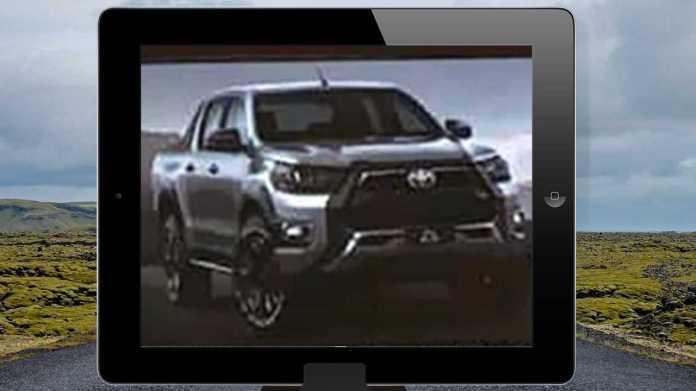 Toyota Hilux 2021 - Leaked image