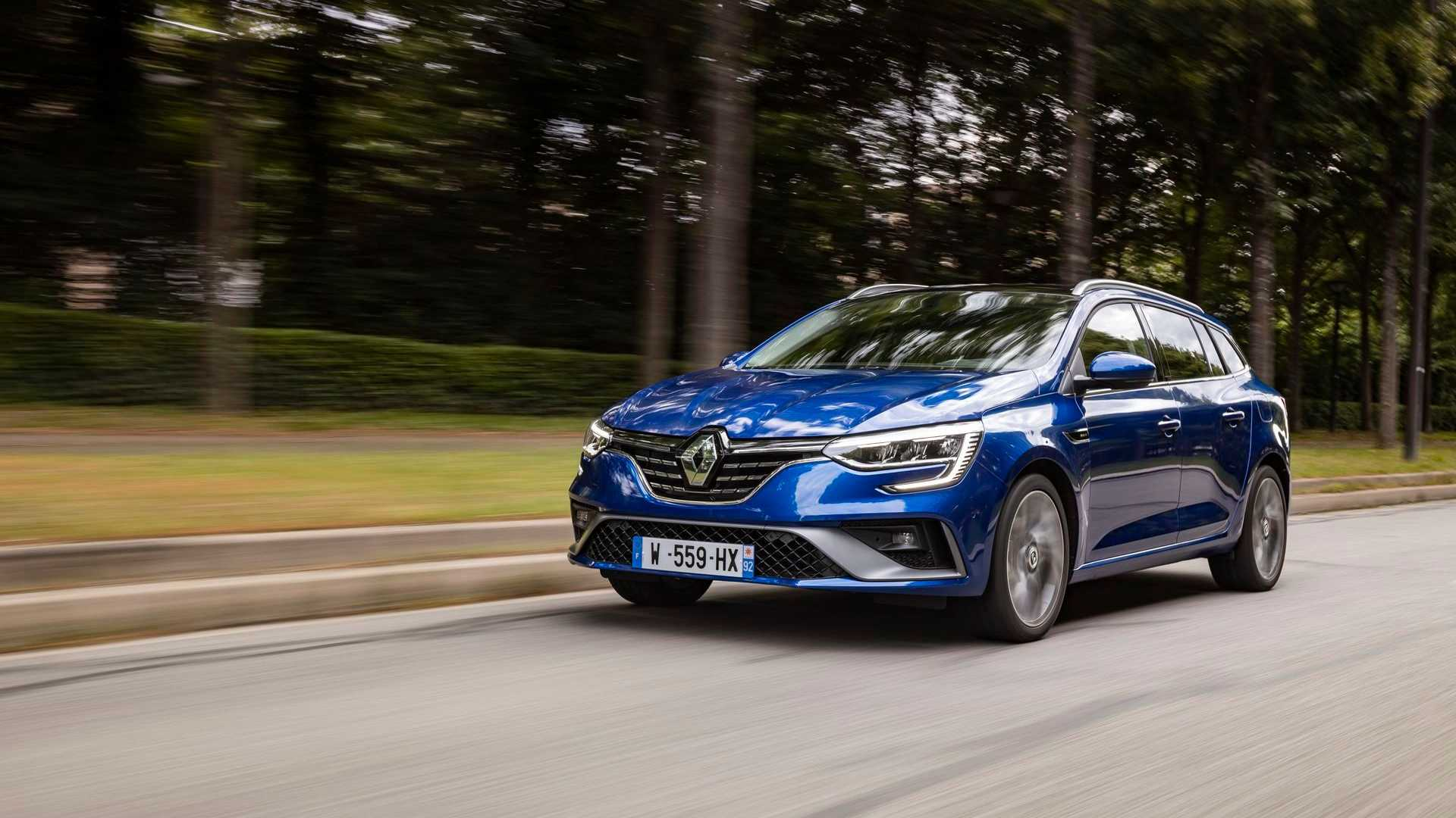 Renault Megane E-TECH PHEV (estate)