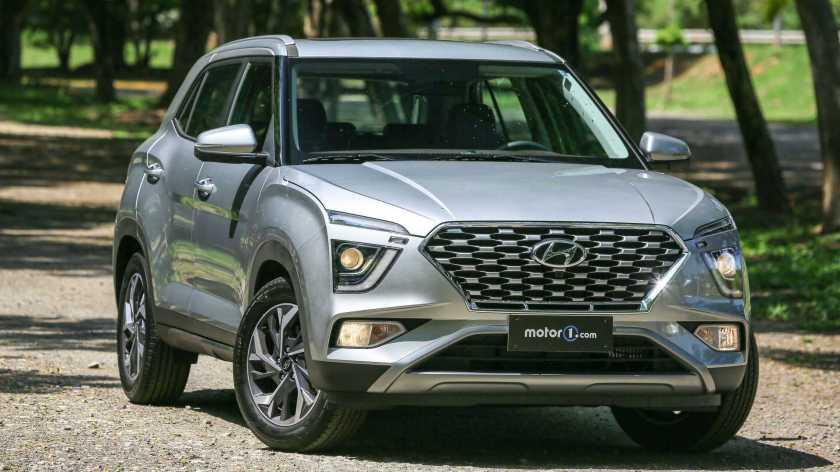 Front of Hyundai Creta Platinum 1.0T 2022