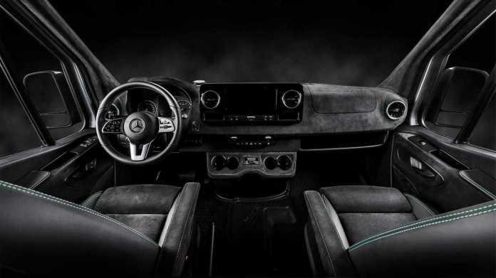 Tow truck Mercedes Sprinter by Kegger (interior)