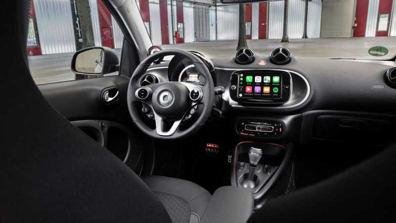 Smart ForTwo EQ interieur