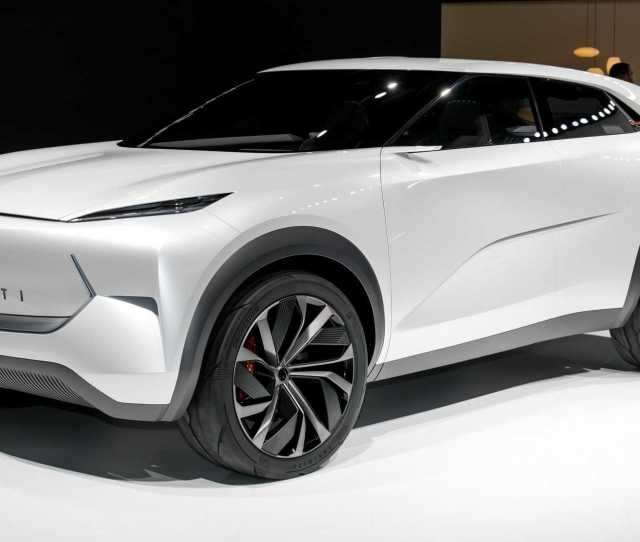 Infiniti Qx Inspiration Concept Foretells Brands Electric Future Update