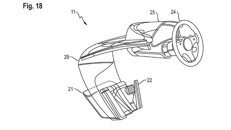 Porsche Autonomous Energy Seat Patent Car News Media Today