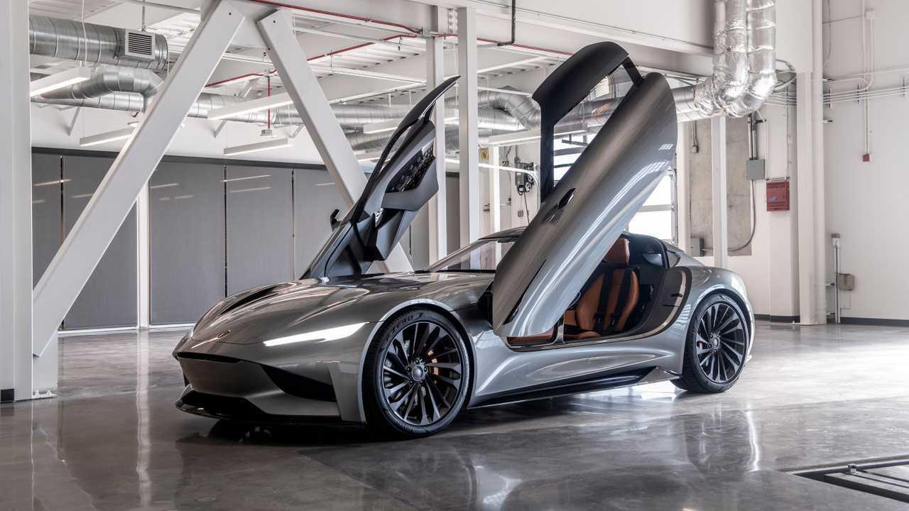 Karma Sc2 Concept At The Los Angeles Auto Show Photos Videos