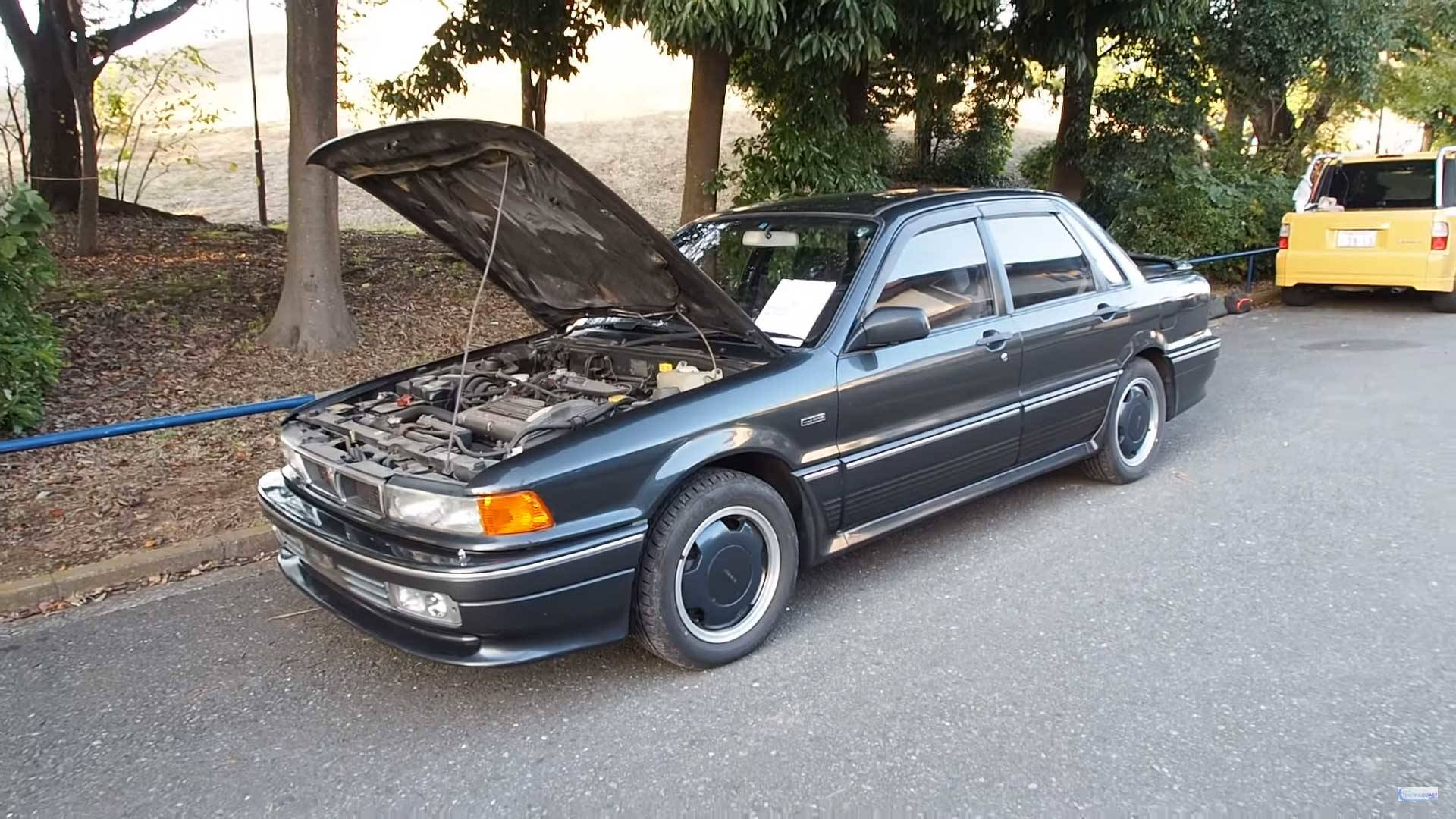 This Rare Amg Tuned Mitsubishi Galant Is A 1990s Time Machine