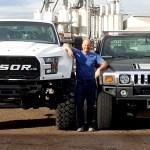 Ford F 250 Mega Raptor Has 46 Inch Tires Takes No Prisoners