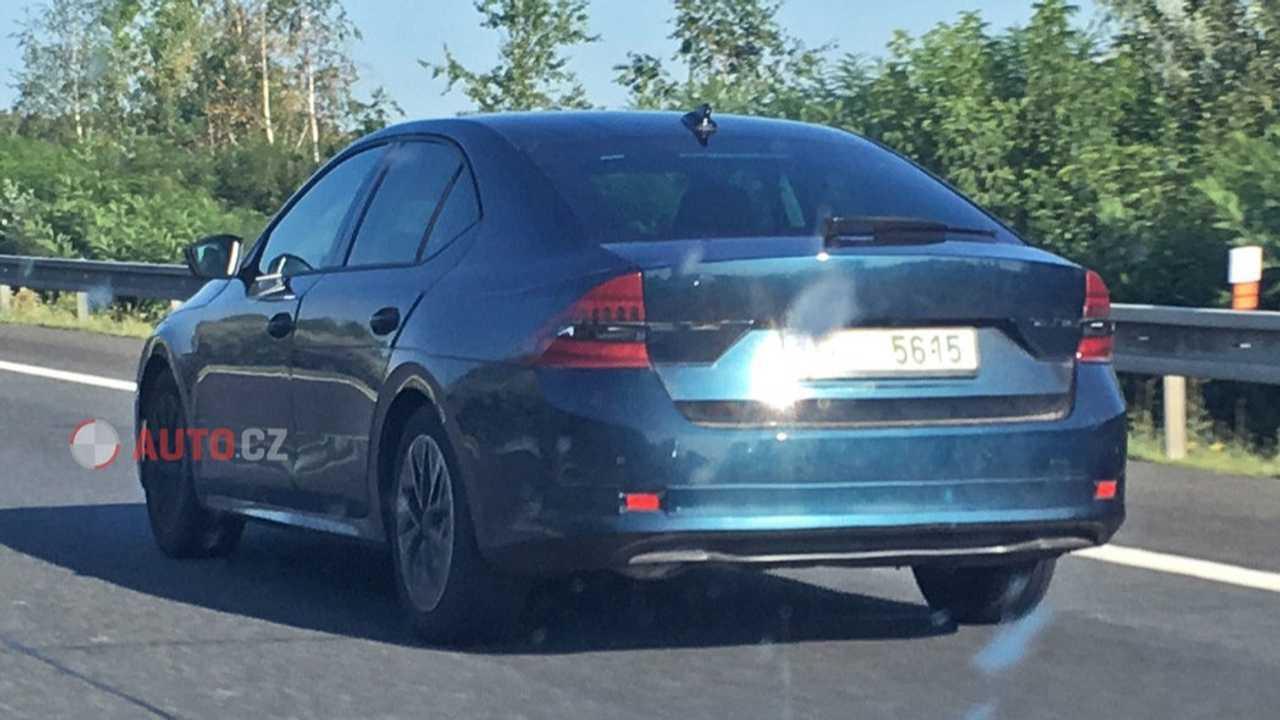 2020 Skoda Octavia Hatchback Spied For The First Time