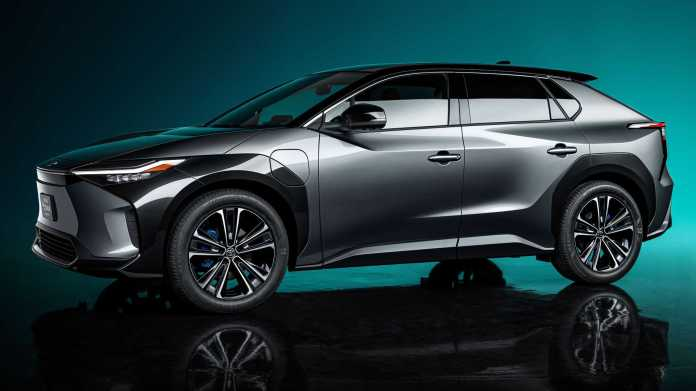 Toyota bZ4X concept downside