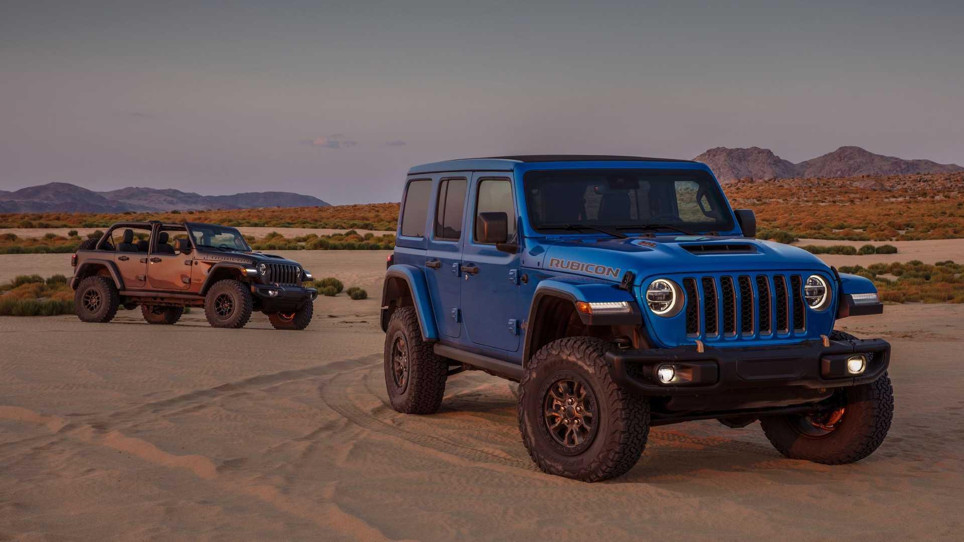 2021 Jeep Wrangler Rubicon 392 Front View