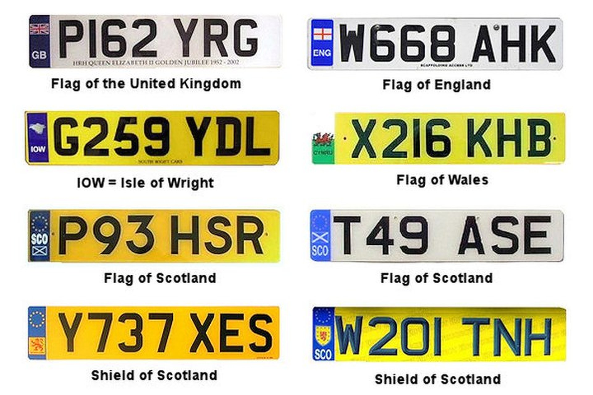 The 10 Most Valuable License Plates In The Uk Cost More