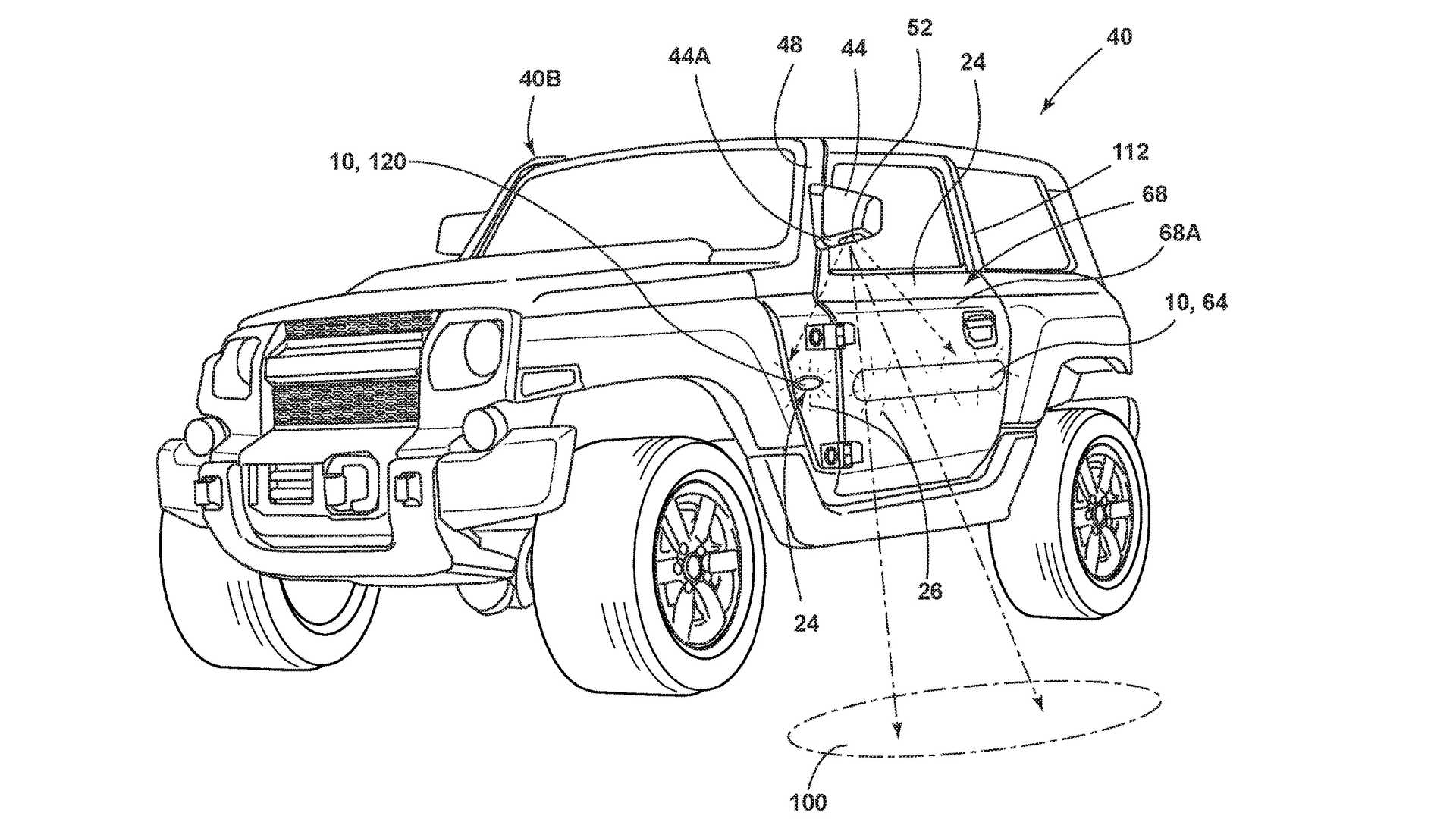 Flipboard Ford Bronco Patent Shows Strange Location For