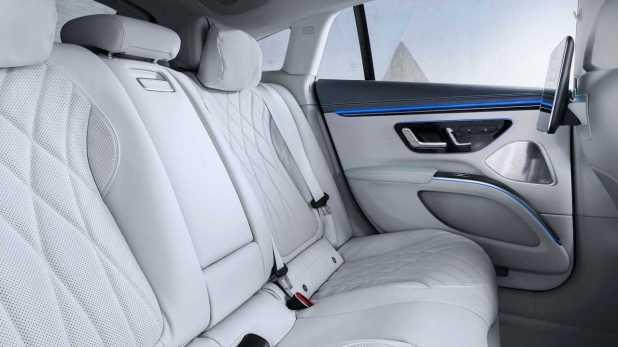 Interior of the Mercedes-Benz EQS 2022