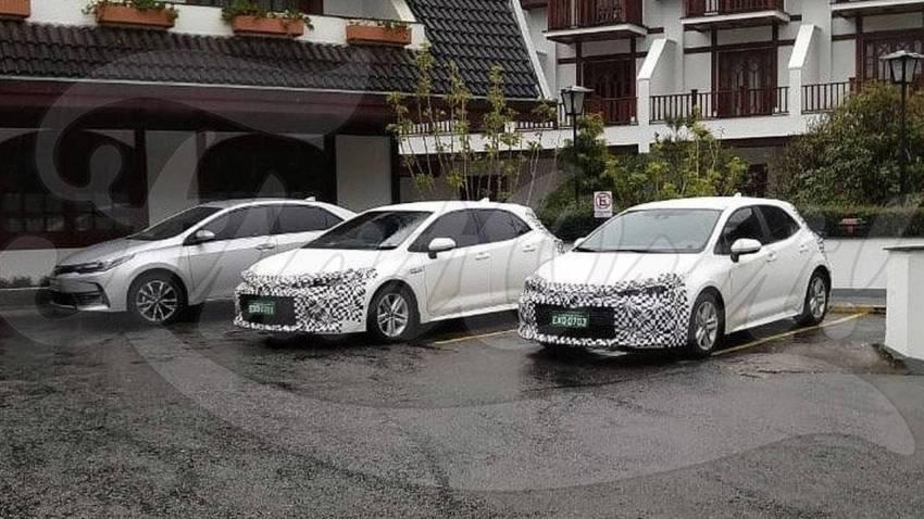 Toyota Corolla - Flagra do hatch no Brasil
