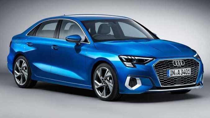 Audi A3 Sedan Rendering